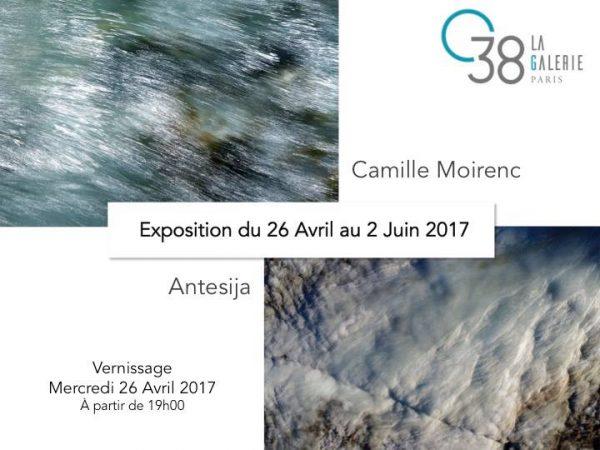 Expo en duo avec le photographe Camille Moirenc – 26 avril au 2 juin 2017 – Galerie 38 – 75007