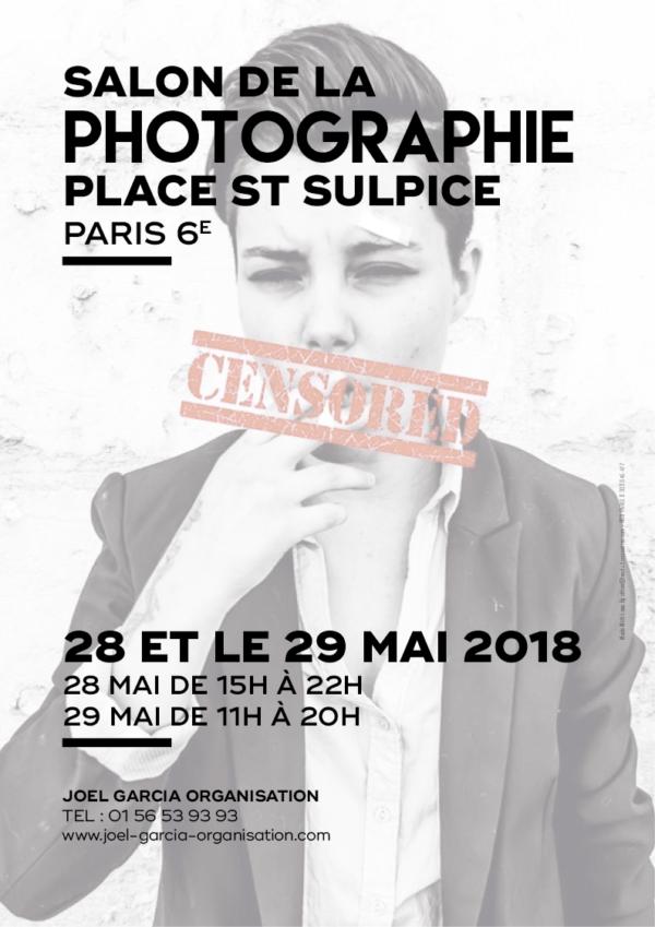 Salon de la Photographie Contemporaine – Place St Sulpice, Paris 6 – mai 2018