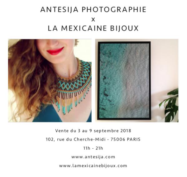 Vente Antesija Photographie x La Mexicaine Bijoux 3-9 septembre 2018