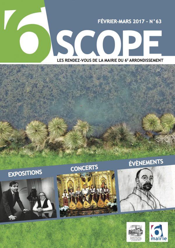 Couverture Antesija – Magazine «6scope» N°63 – Février-Mars 2017